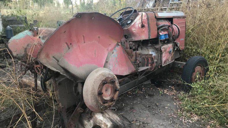 Lo engañaron y le robaron un tractor de una chacra