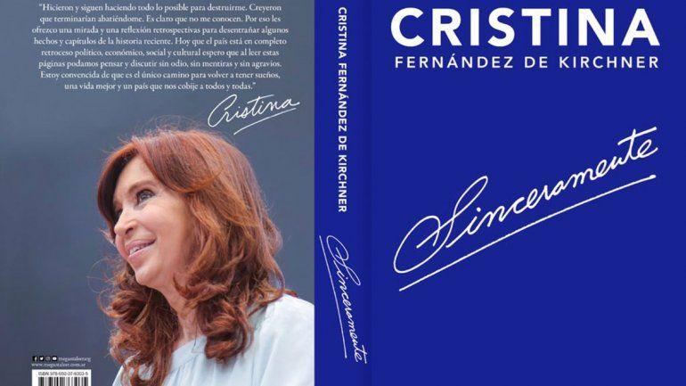 Macri es el caos, Cristina anunció el lanzamiento de su libro
