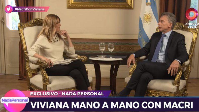 Macri dijo que hay que recuperar el alma del país e hizo que Canosa debute con buen rating