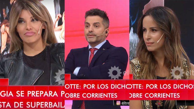 Charlotte pasó por LAM e hizo enojar a De Brito y a Lourdes Sánchez