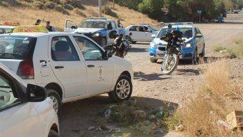 policias y taxistas persiguieron por kilometros a motochorros