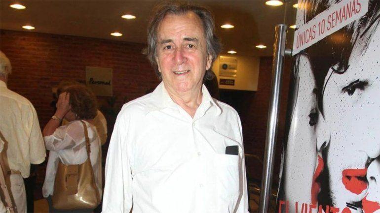El cine y el teatro, de luto: murió el actor y director Lorenzo Quinteros