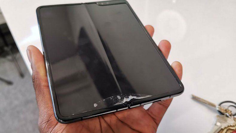 ¡Que se pliegue pero que no se rompa! Falló el nuevo Samsung