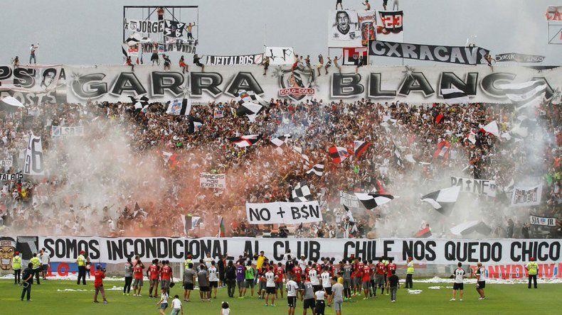 River no fue bienvenido en Chile