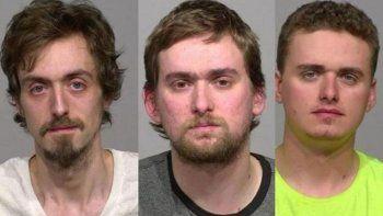 tres jovenes abusaron de sus cinco hermanos