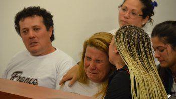 familia de franco basualdo: ni la peor pena remedia el dolor que tenemos