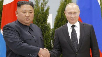 cumbre amigable entre putin y el lider norcoreano