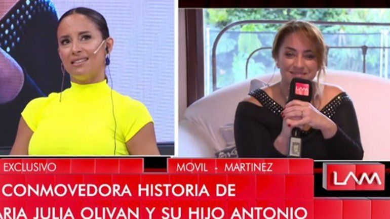 Lourdes Sánchez se quebró al hablar de su hijo