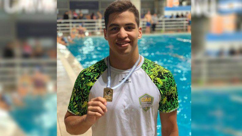 El nadador Agustín Hernández clasificó a los Juegos Panamericanos
