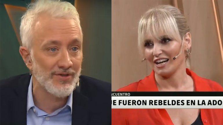 El incómodo cruce entre Andy Kusnetzoff y Romina Manguel por una inocente pregunta