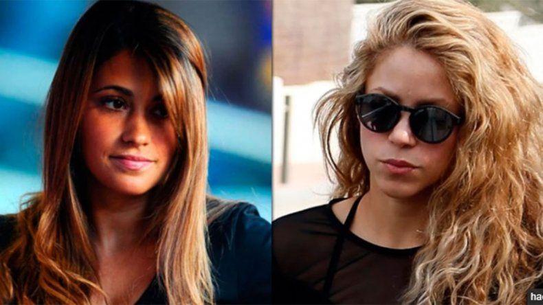 Antonela Roccuzzo y Shakira limaron asperezas y posaron juntas