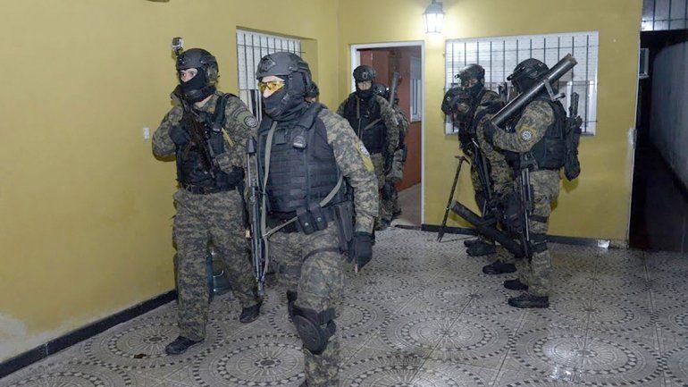 Rosario: detuvieron a dos familias narcotraficantes
