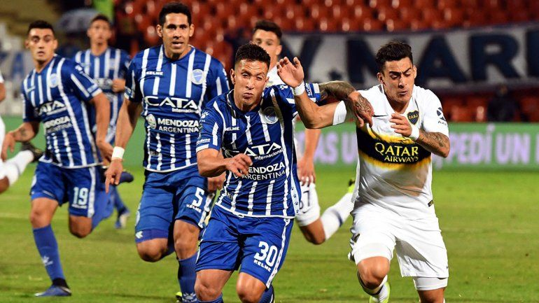 En el final, el Boca muletto se llevó los tres puntos de su visita a Mendoza