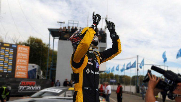 A Pernía y a los Renault no los detiene nadie