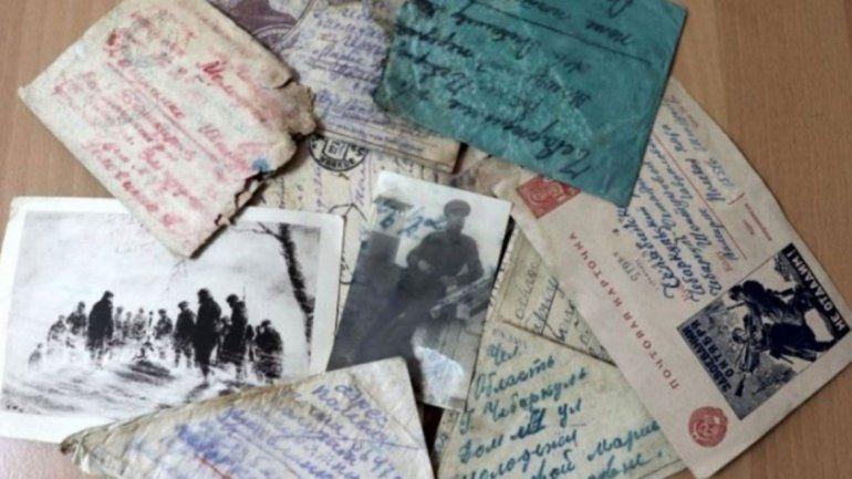 Aparecieron 75 cartas de la 2° Guerra Mundial