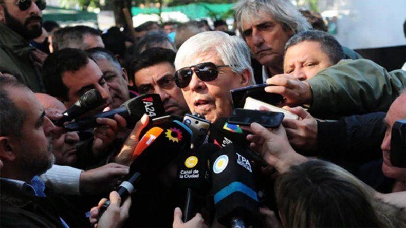 Hugo Moyano: Si Cristina se presenta, la acompañaré