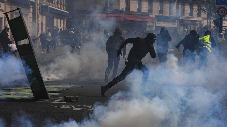 Incidentes en París con los chalecos amarillos