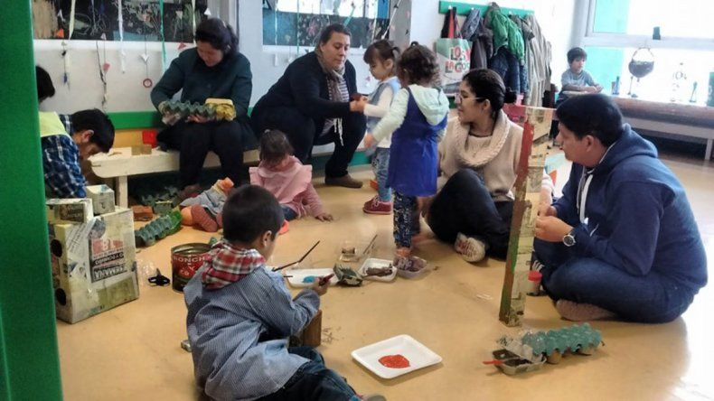 San Martín expone plan de primera infancia que busca enseñar jugando