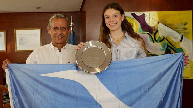 La Muni declaró joven destacada a Gisella Bonomi