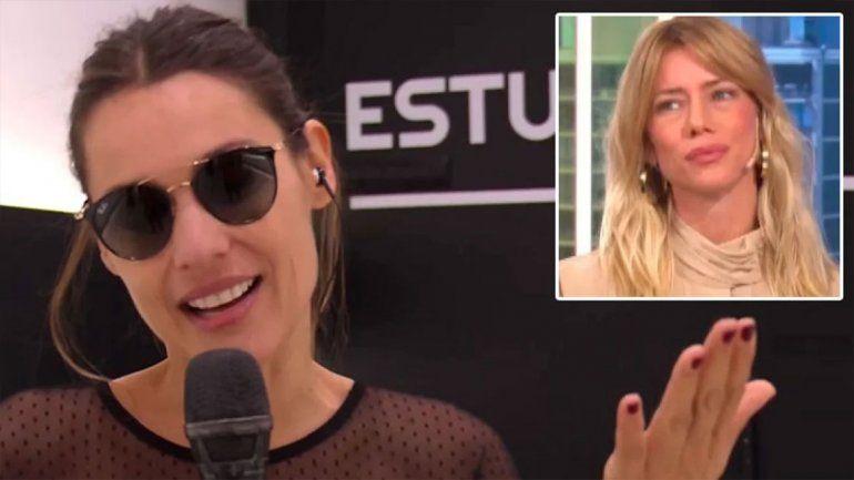Nicole apuró a Pampita en vivo y discutió con Cinthia Fernández