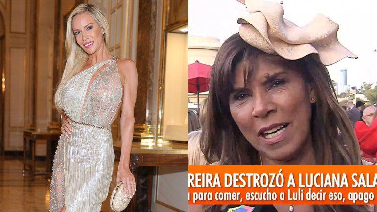 Luli Salazar dijo que no llegaba a fin de mes y Anamá Ferreira se enojó: No te cree nadie Luciana
