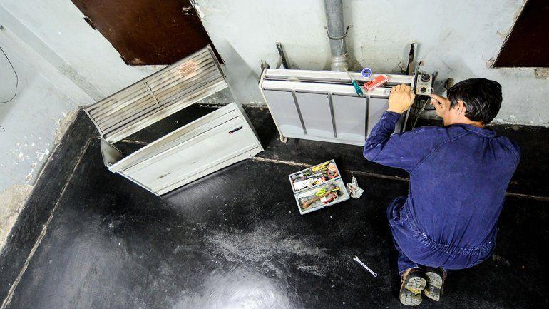 Poner a punto el calefactor aumentó 50% en un año