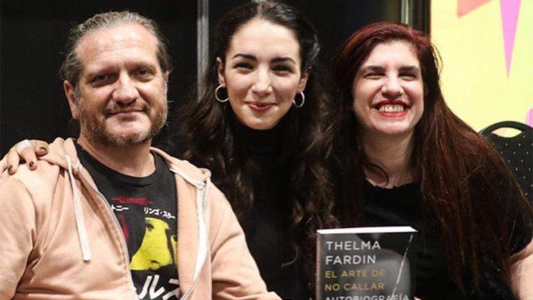 Thelma Fardin presentó su libro: Espero que sea un espacio de contención más