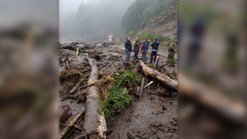 Por un aluvión del lado chileno, el Paso Samoré continuará cerrado