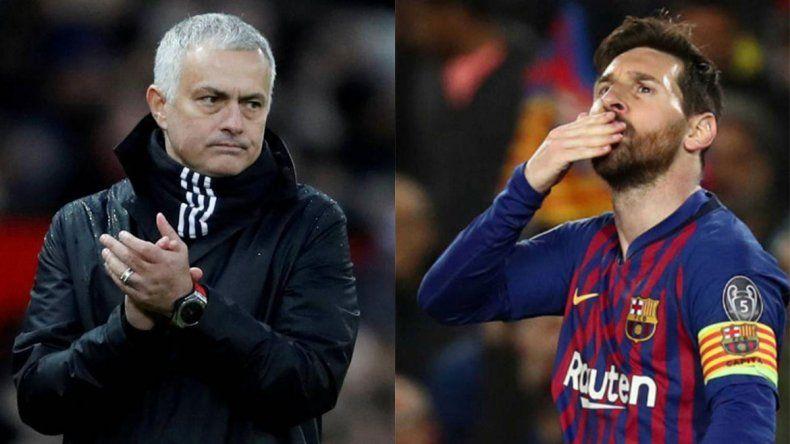 Mourinho se rindió ante Messi, ¿cuál fue el elogio del portugués?