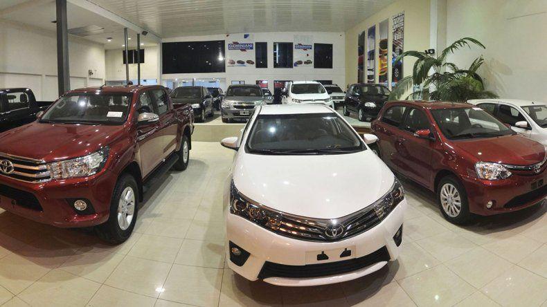 Cayó un 35 por ciento la venta de autos 0 km en Neuquén