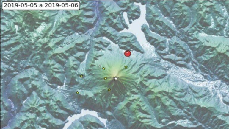 Un sismo de 3 grados se registró cerca del Volcán Lanín, pero se mantiene el alerta verde
