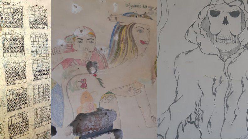 Soledad, violencia y religión: el arte tumbero que aún perdura en las celdas de la U9