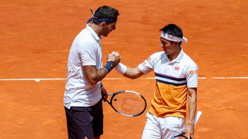 Del Potro volvió en Madrid con un triunfo en dobles