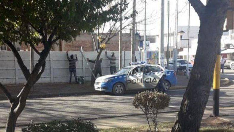 Reclamaron más seguridad con una volanteada y Plottier se llenó de policías