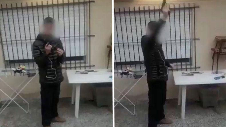 Se filmó disparando y padres de su colegio temen una masacre
