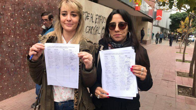 Juntan firmas para apoyar el proyecto de ley anti-alambre de Baggio