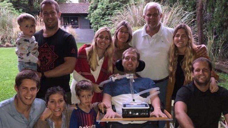 Murió un rugbier a tres años de quedar   cuadripléjico