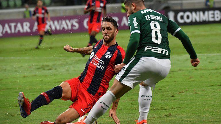 San Lorenzo cayó en Brasil y quedó segundo en su zona
