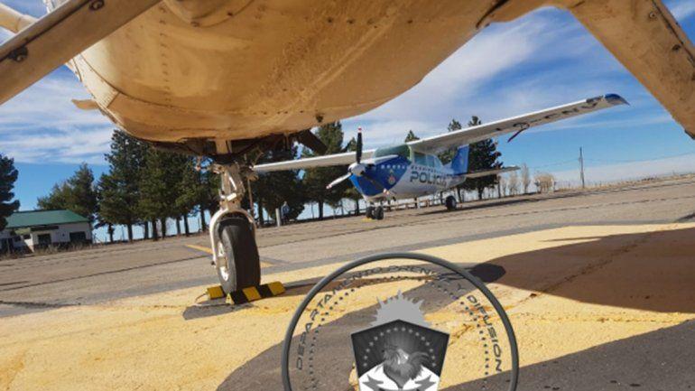 Por una falla en el motor, una aeronave aterrizó de emergencia en Zapala