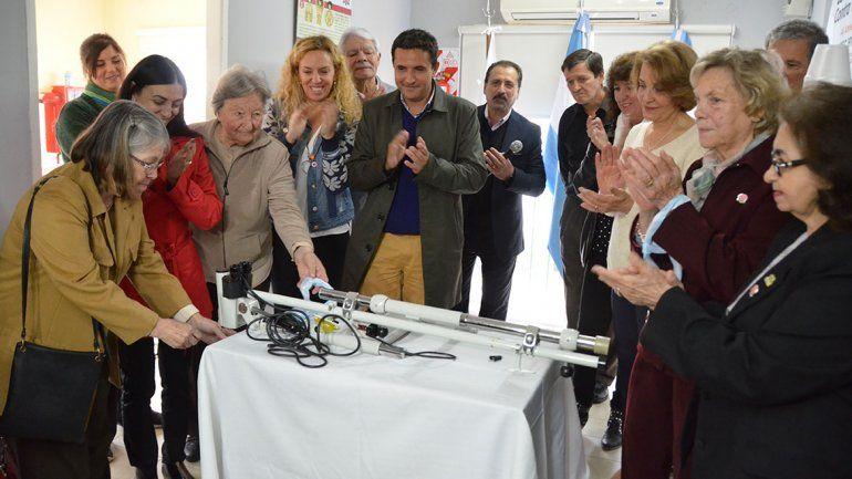 Luncec recibió la donación de un nuevo equipamiento