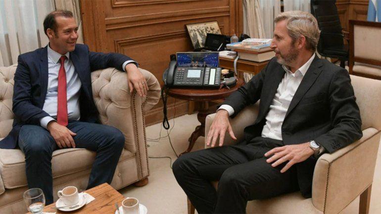 Frigerio recibió a Gutiérrez en el marco del diálogo Gobierno-oposición