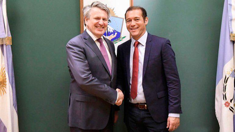 El CEO de Shell ratificó inversiones en Neuquén