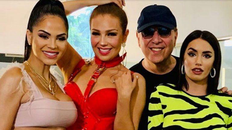 Lali Espósito, Natti Natasha y Thalía son una bomba musical