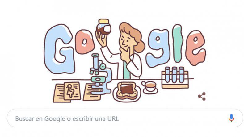 El doodle en homenaje a Lucy Wills, una hematóloga que salvó a millones de mujeres