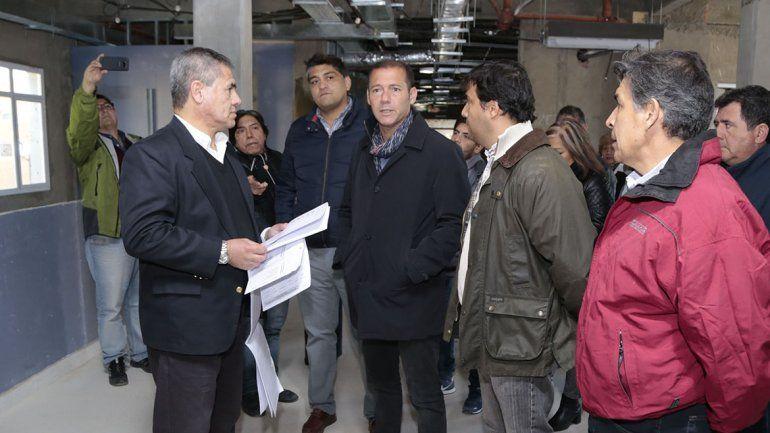 Gutiérrez recorrió obras en Zapala y anunció la compra de ambulancias