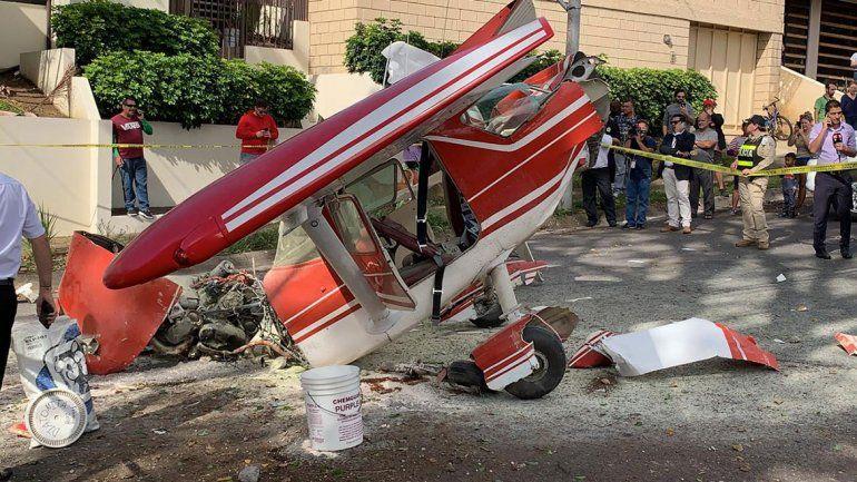 Cayó avión con dos argentinos: se salvaron