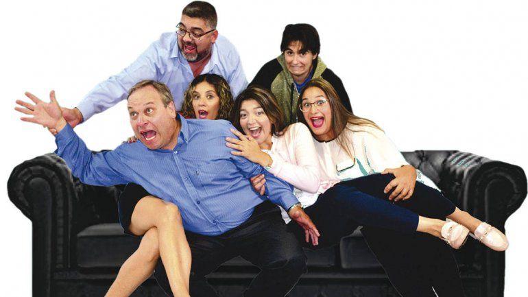 Tres parejas y una historia terapéutica con dosis de humor