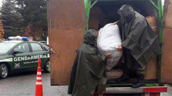 golpe al contrabando: secuestran cargamento valuado en $2 millones