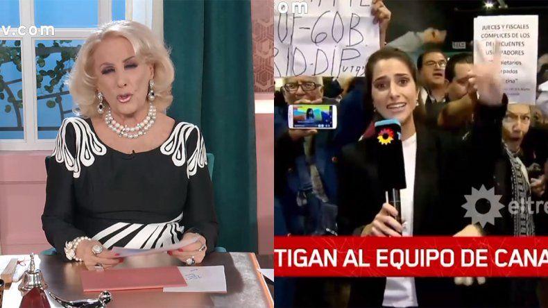 La bronca de Mirtha con los seguidores de CFK: Qué desagradable, esto es lo que va a venir