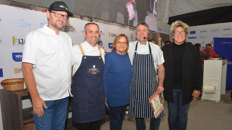 Charlas, comida y mucho público, en la segunda jornada del festival del Chef Patagónico
